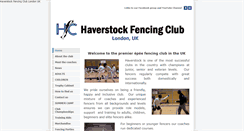 Preview of haverstockfencing.net