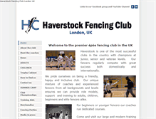 Tablet Preview of haverstockfencing.net